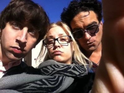 Johnny, Kaley and Simon
