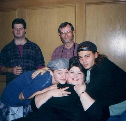 Johnny, Leonardo and Darlene