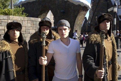 Josh visited the Wizarding World