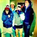 Justin Bieber, Ryan Butler and Chaz Somers