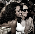 Katerina Graham and Her mum