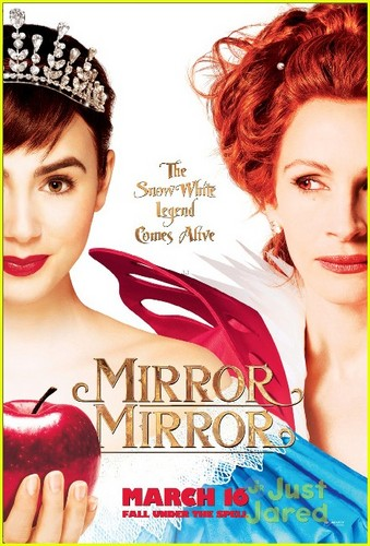 Lily Collins: 'Mirror Mirror' Poster!