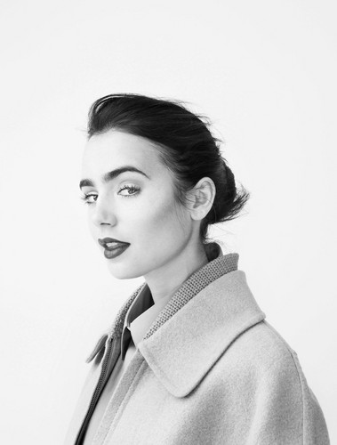 Lily Collins W Magazine Photoshoot
