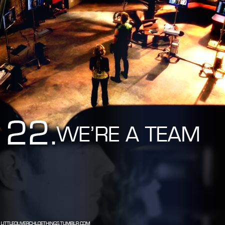 22. We're a team