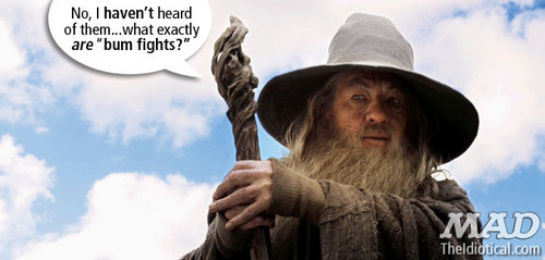 MAD Outtakes from the 'The Hobbit' Trailer