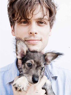 MGG with puppy