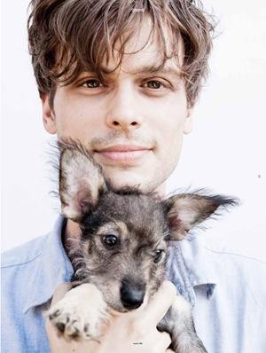 MGG with cachorro, filhote de cachorro
