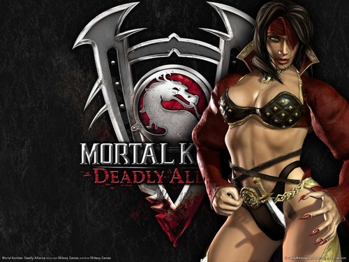 Mortal Kombat wallpaper probably containing a bikini called MK wallpaper