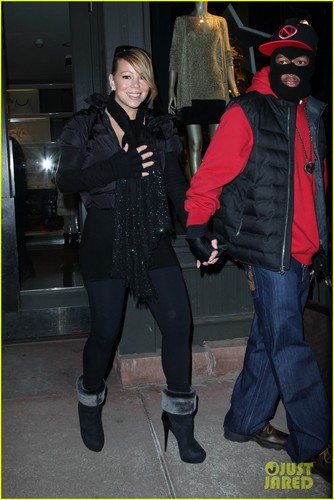Mariah Carey & Nick Cannon: Aspen Holiday Shopping Spree!