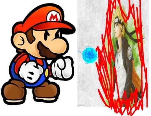 Mario vs Naruto