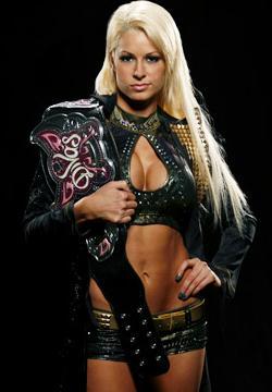 Maryse as the Divas Champion