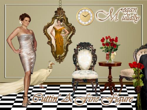 Megan Mullally - Cuttin' a fine figure