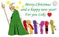 Merry Weihnachten Loki!