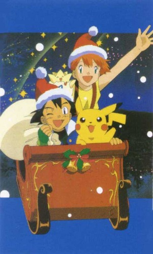 Merry Christmas! :) from Ash and Misty!