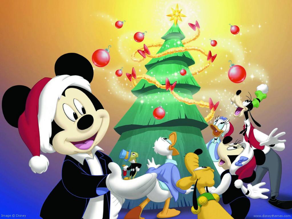 Best Wallpaper Christmas Mickey Mouse - Mickey-Mouse-Christmas-disney-christmas-27884443-1024-768  Collection_543225 .jpg
