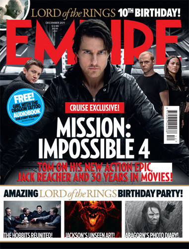 Mission Impossible - Ghost Protocol Empire Magazine 2011