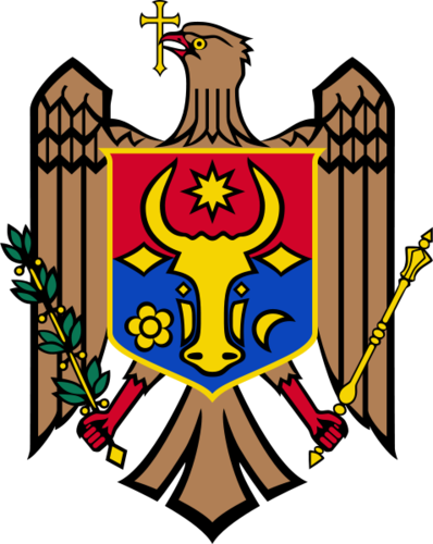 jas of Arms of Moldova
