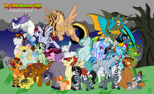 Monster High as Ponies - monster-high Photo