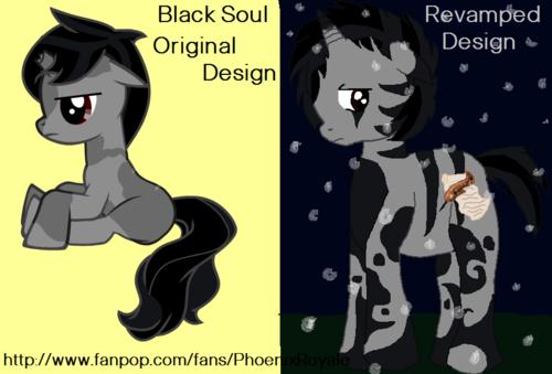 My gppony, pony FC, Black Soul