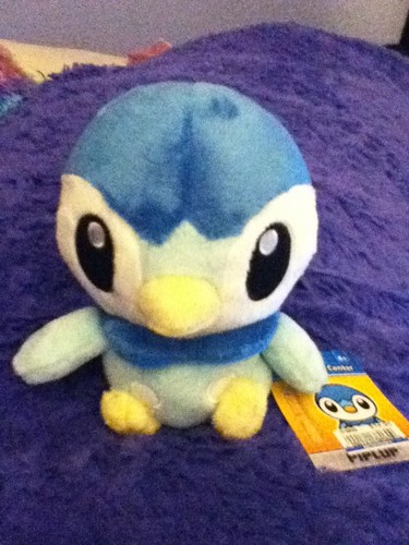 My new Piplup Pokedoll Plush x3