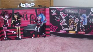My new monster high Куклы