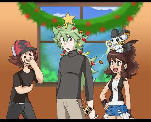 N the 크리스마스 나무, 트리