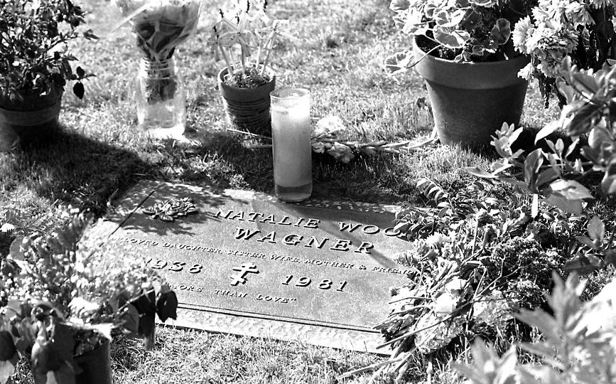 Natalie's grave