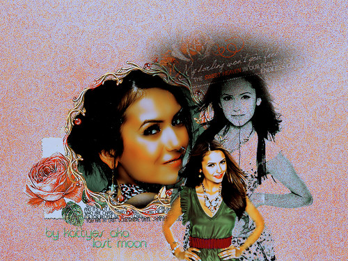 Nina Dobrev wallpaper titled NinaWallpapers!