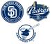 Padres logos - baseball icon