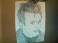 Pencil drawing of James Dean - james-dean fan art