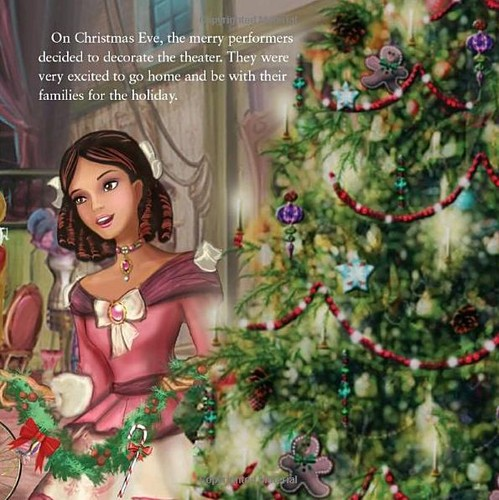 Pics from the books of Barbie in a Christmas Carol