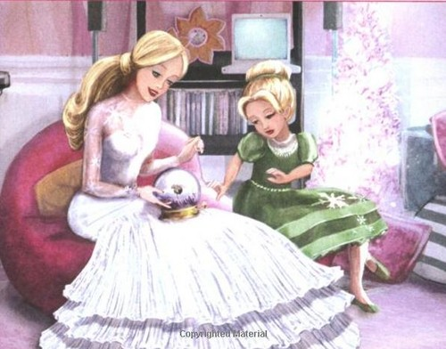 Pics from the libri of Barbie in a Natale Carol
