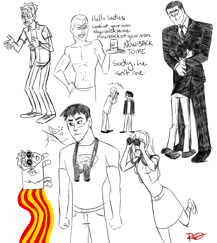REALLY random sketch dump