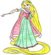 Rapunzel Рождество