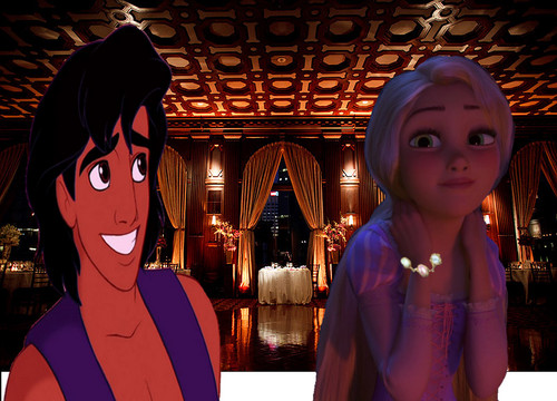 Rapunzel and Aladdin