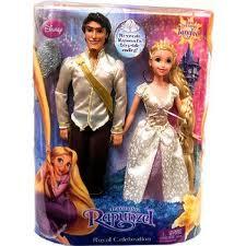 Rapunzel and Flynn Wedding Dolls