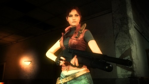 resident evil wallpaper probably with hosiery, a concert, and a hip boot entitled Resident Evil: Operation Raccoon City Claire Redfield