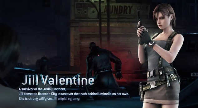 Resident Evil Operation Raccoon City Jill Valentine