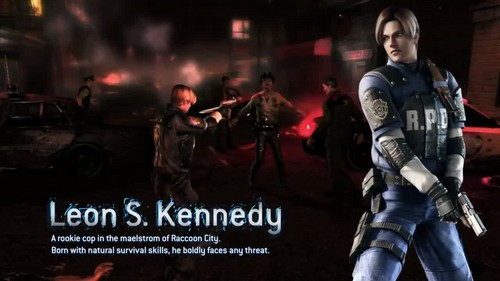 Resident Evil: Operation Raccoon City Leon Kennedy