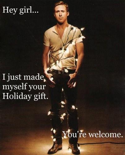 Ryan gänschen, gosling - Weihnachten Present