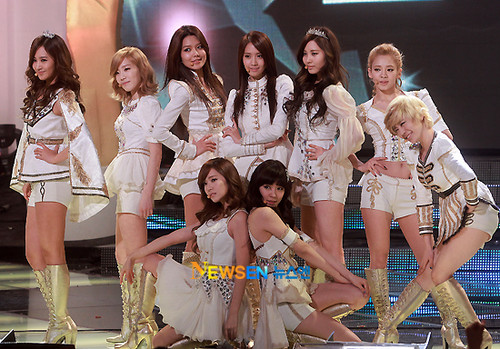 SNSD - 2011 KBS Entertainment Awards Pictures
