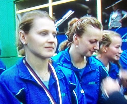 Safarova did not applaud Berdych !