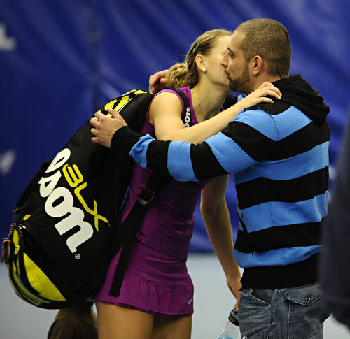 Safarova has already a segundo boyfriend after the break with Berdych !
