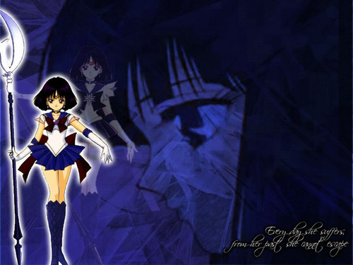 Bakugan and Sailor Moon! wallpaper called Sailor Saturn