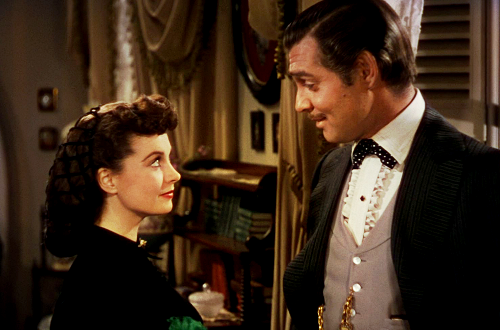 Scarlett O'Hara and Rhett Butler
