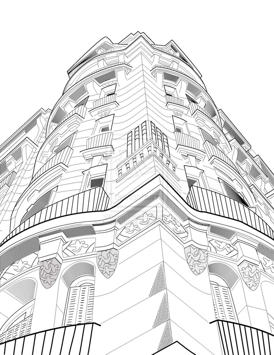 Line Drawing Backgrounds : Scenery drawing fan art  fanpop