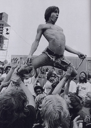 Iggy Pop, Detroit, 1970