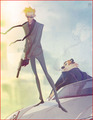 Secret Agent Calvin and Hobbes by kizer180 - calvin-and-hobbes fan art