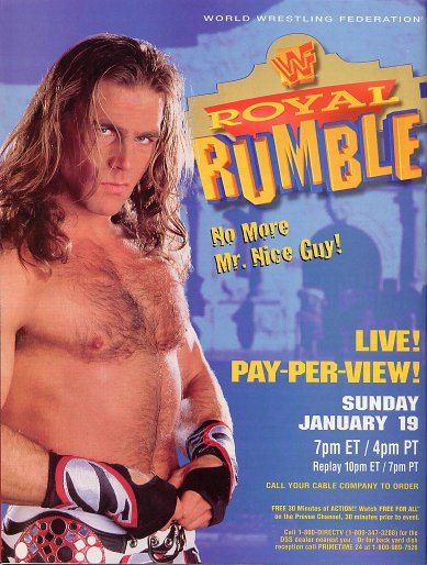 Shawn Michaels 1997 Royal Rumble Promotion