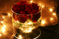 Shining Glass of Roses
